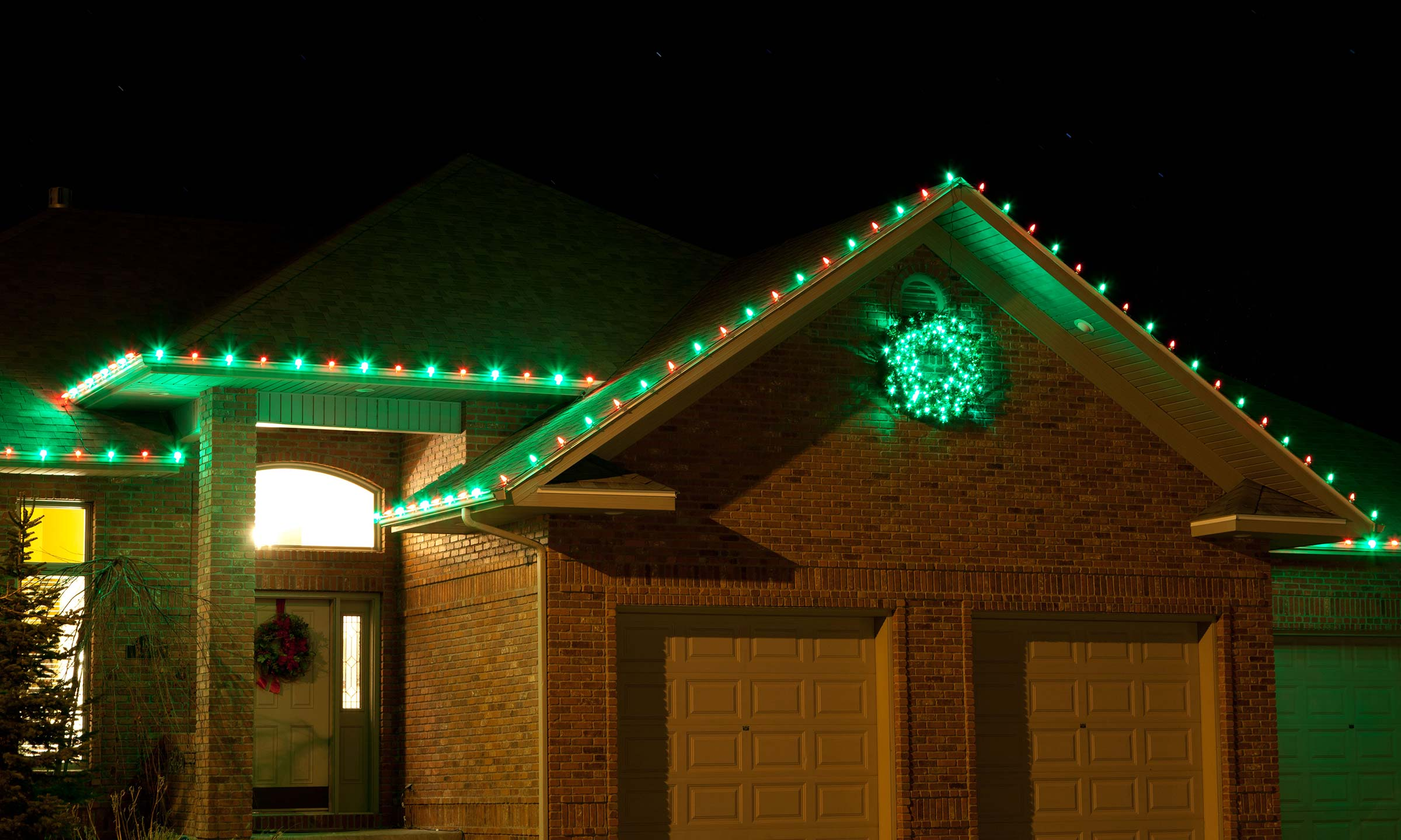 christmas holiday lighting