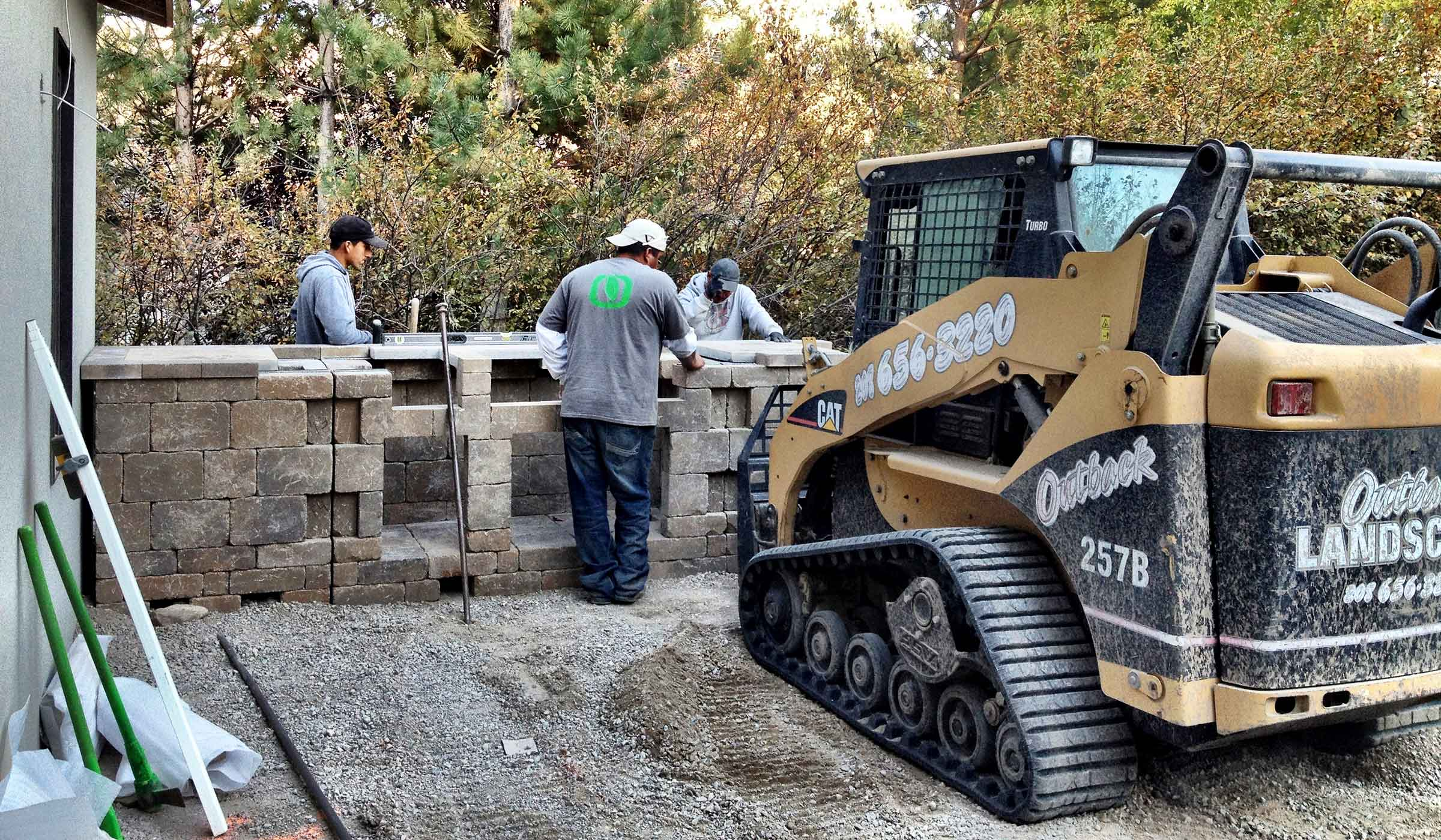 landscape construction and installation Idaho Falls, ID