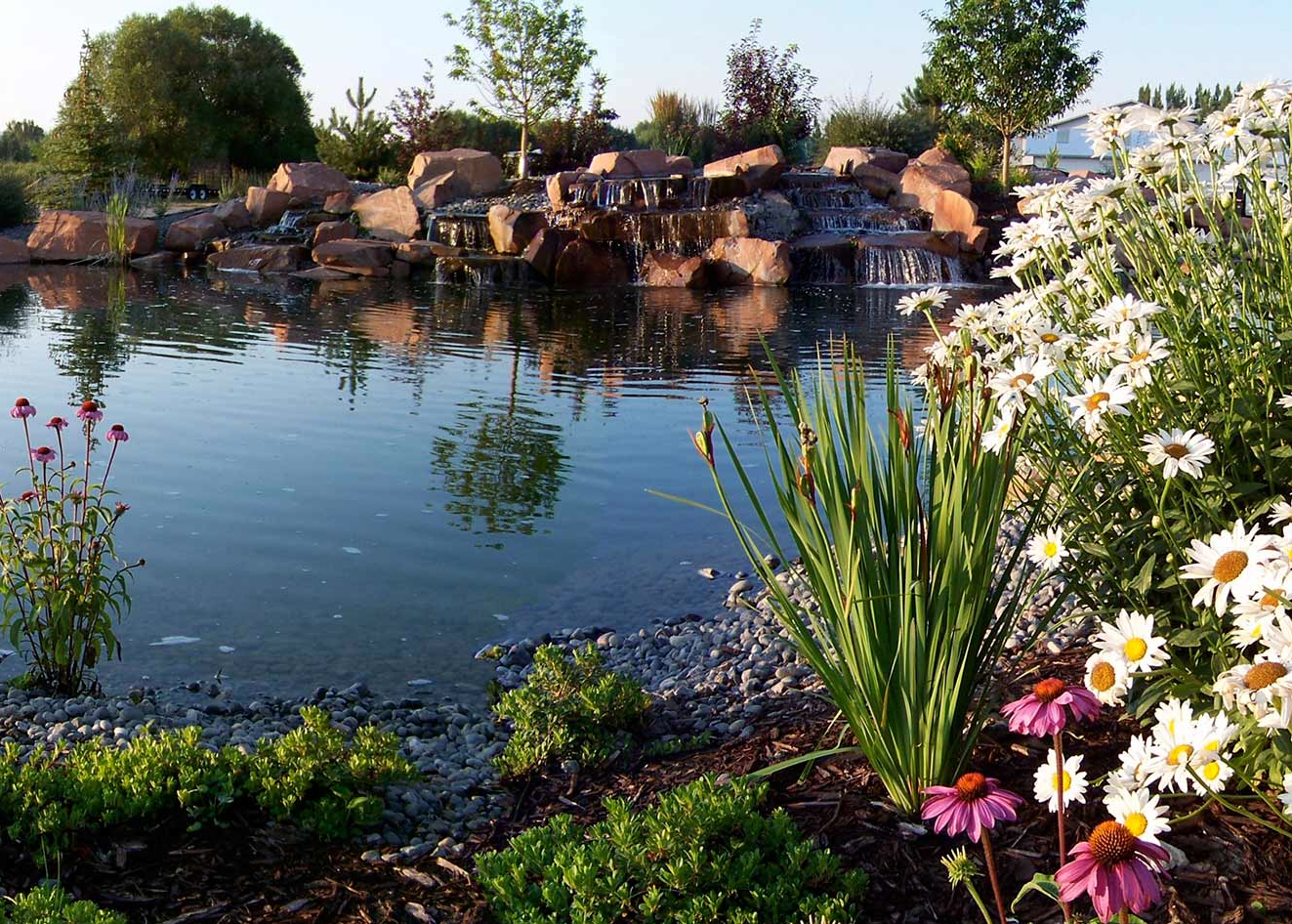 water features and ponds Idaho Falls, ID