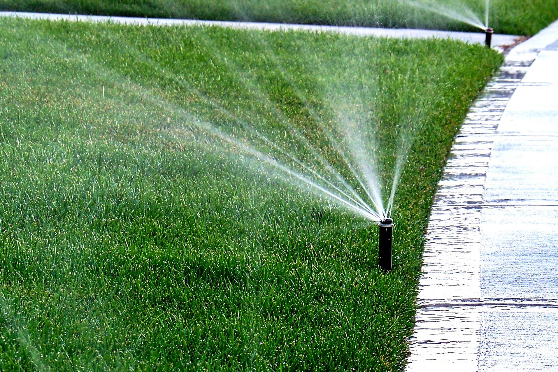 why is my lawn so wet 4 sprinkler system repair tips