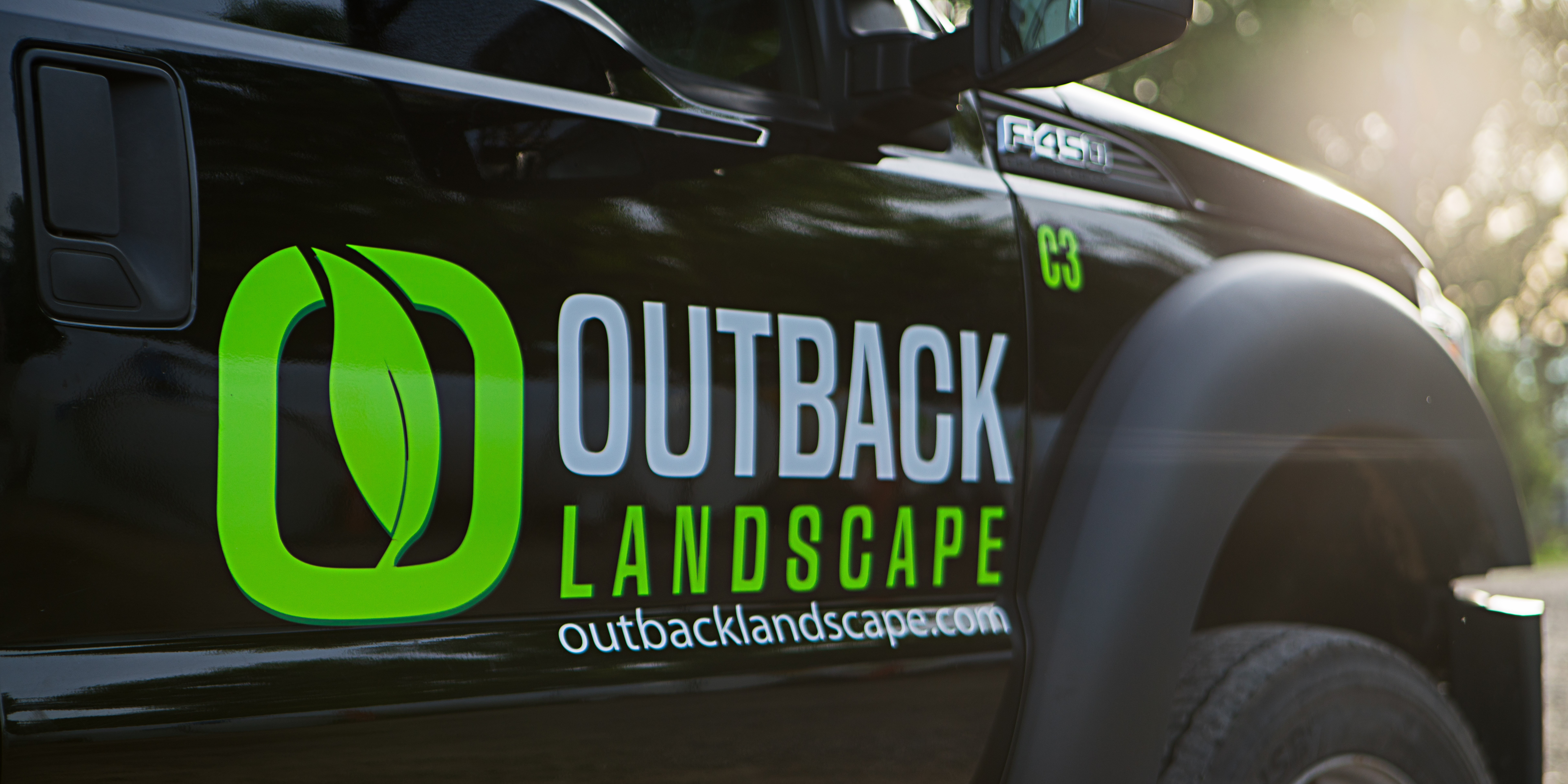 a very clean outback vehicle