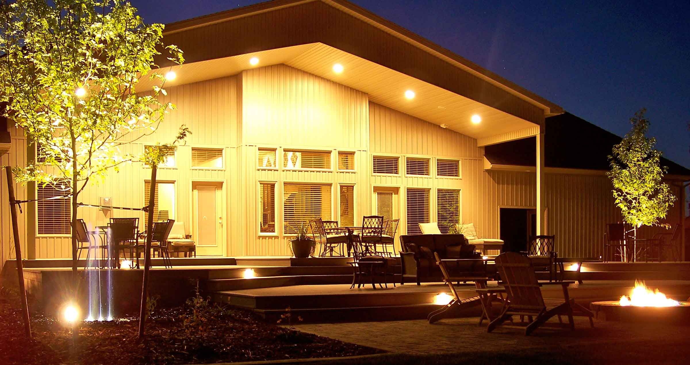 Learn what factors affect the cost of landscape lighting in idaho