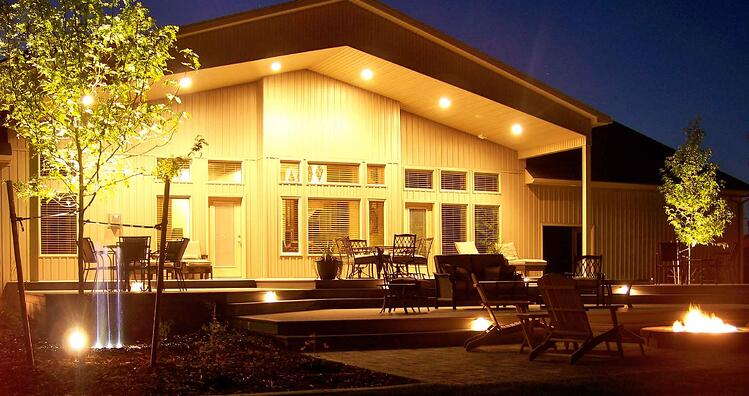 How much will it cost to install low voltage and led landscape learn what factors affect the cost of landscape lighting in idaho aloadofball Gallery