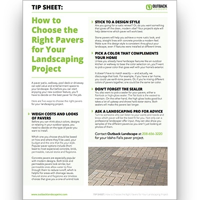 Paver Guide