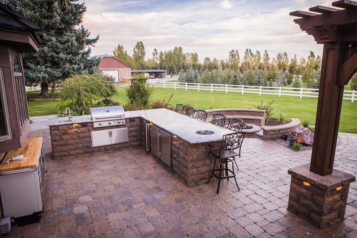brick pavers vs stamped concrete cost considerations. Black Bedroom Furniture Sets. Home Design Ideas