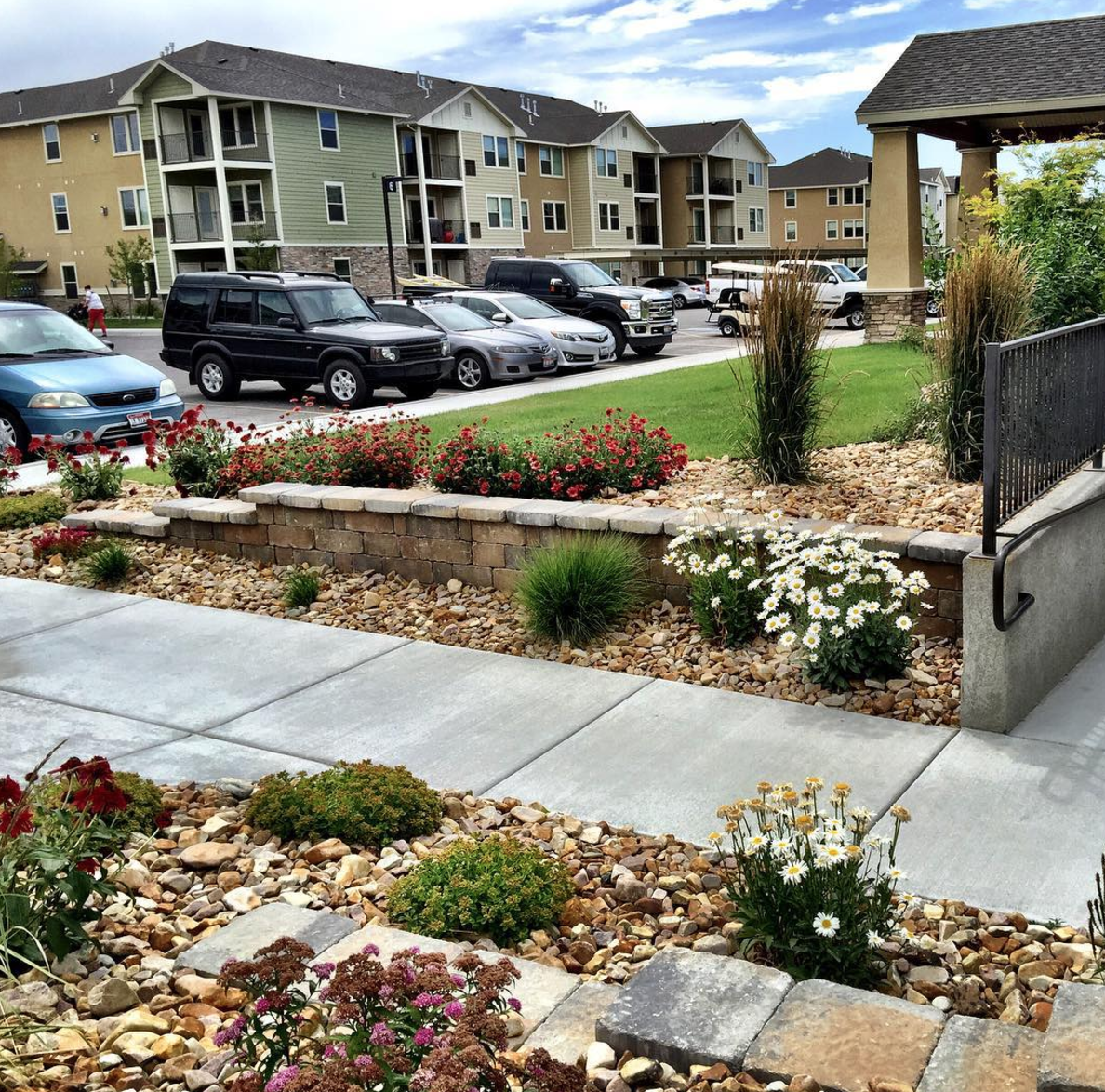 Landscaping Ideas For Commercial Buildings: Landscaping Ideas For Apartment Buildings (To Increase Occupancy And Retention In 2017