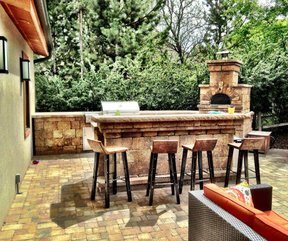 Good How Much Does An Outdoor Kitchen Cost #13: Outdoor Kitchen
